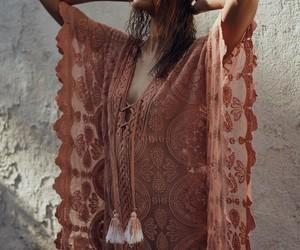 beautiful, bohemian, and woman image