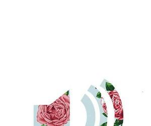 flowers and music image