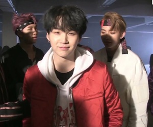 bts, suga, and not today image