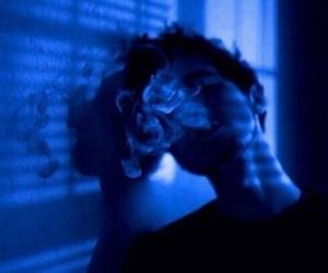boy, smoke, and grunge image