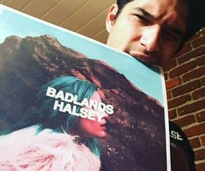 halsey, badlands, and tyler posey image