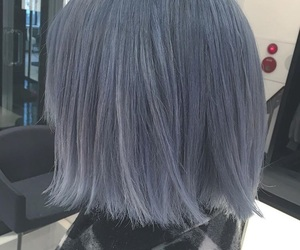 bluehair, haircolor, and hair image