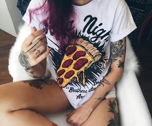 alternative, girl, and tattoo image