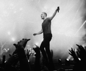 imagine dragons, band, and black and white image
