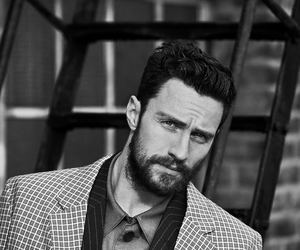 actor, black & white, and funny face image