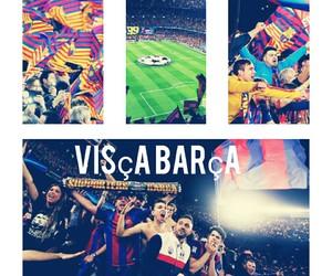 Barcelona, visca barça, and força barça image