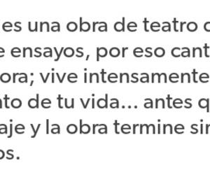 la vida, 💙, and obra de teatro image