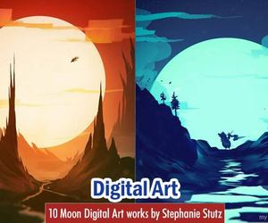 art, digital art, and digital artworks image