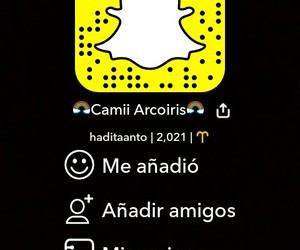 redes, snapchat, and agregar image