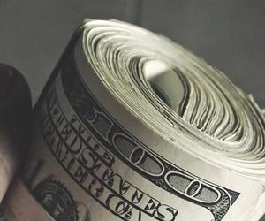 money, dollar, and cash image