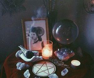 amethyst, quartz, and wicca image