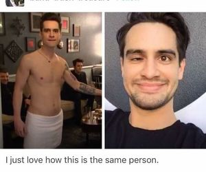 brendon urie, funny, and lol image