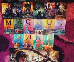 city of bones, cassandra clare, and shadowhunters image