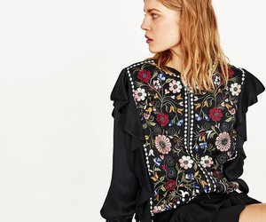 blazer, floral, and jacket image