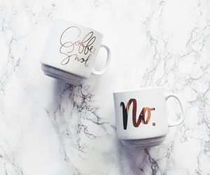 marble, cup, and coffee image