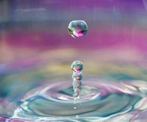 water and drop image