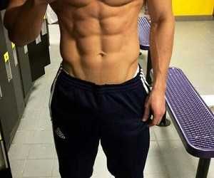 Hot, abs, and boy image