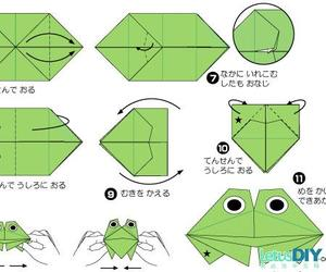 3 3, origami frog, and post 3 image