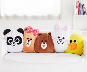 brown, cushion, and korea image