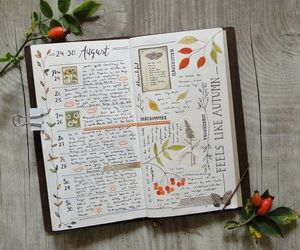 flowers and journal image