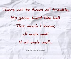 Lyrics, music, and alterbridge image