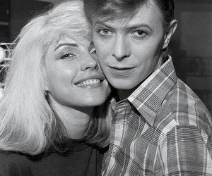 david bowie, debbie harry, and blondie image