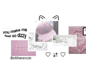pink and overlays image