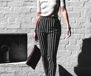 black striped pants image