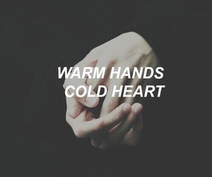 hands, grunge, and quotes image