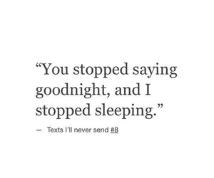 goodnight and quote image