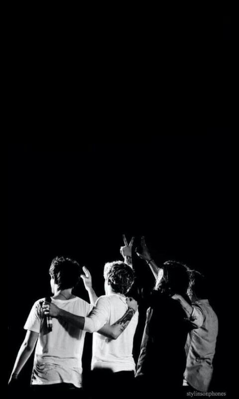 1000 Images About One Direction Black And White On We Heart It See More About One Direction 1d And Harry Styles Where we are san siro black and white wallpaper one direction. one direction black and white on we