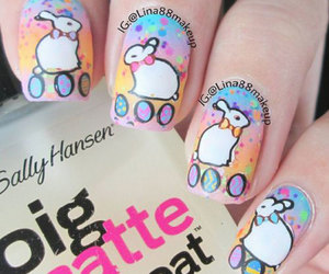 easter nails, nails art easter, and easter nail art image