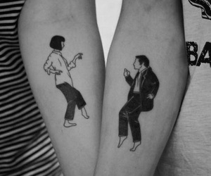movie, pulp fiction, and tattoo image