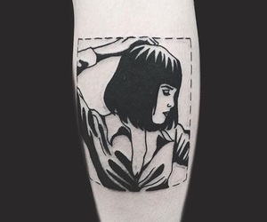 pulp fiction and tattoo image