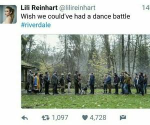 riverdale, lili reinhart, and dance battle image