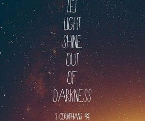 Darkness, quotes, and light image