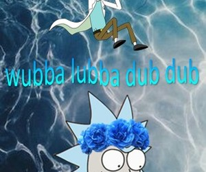 aesthetic, rick y morty, and alternative image