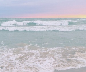 pastel, ocean, and aesthetic image