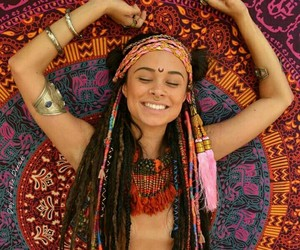 happy, hippy, and life image