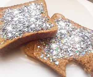 confetti, food, and glitter image
