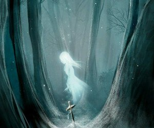 ghost, anime, and art image