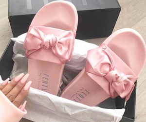 rihanna, shoes, and bow image