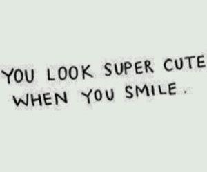smile, quotes, and cute image