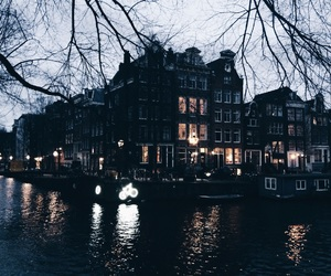 amsterdam, city, and house image