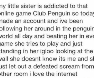 funny, tumblr, and club penguin image
