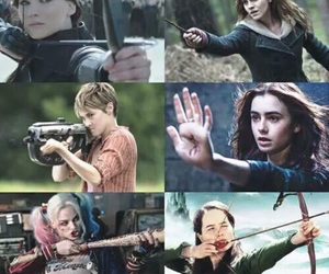 harry potter, movies, and insurgent image