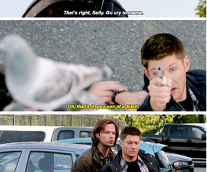 dean winchester, funny, and lol image