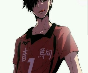 haikyuu, anime, and kuroo image