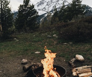 beautiful, fire, and love it image