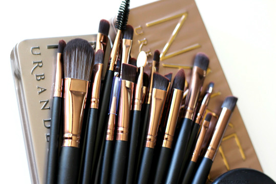 Brushes, make up, and urban decay image